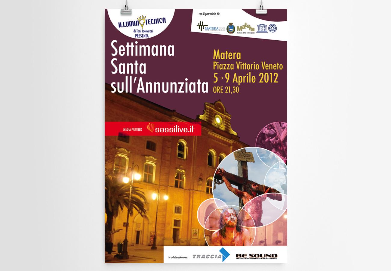 settimana santa Palazzo dell'Annunziata 2012